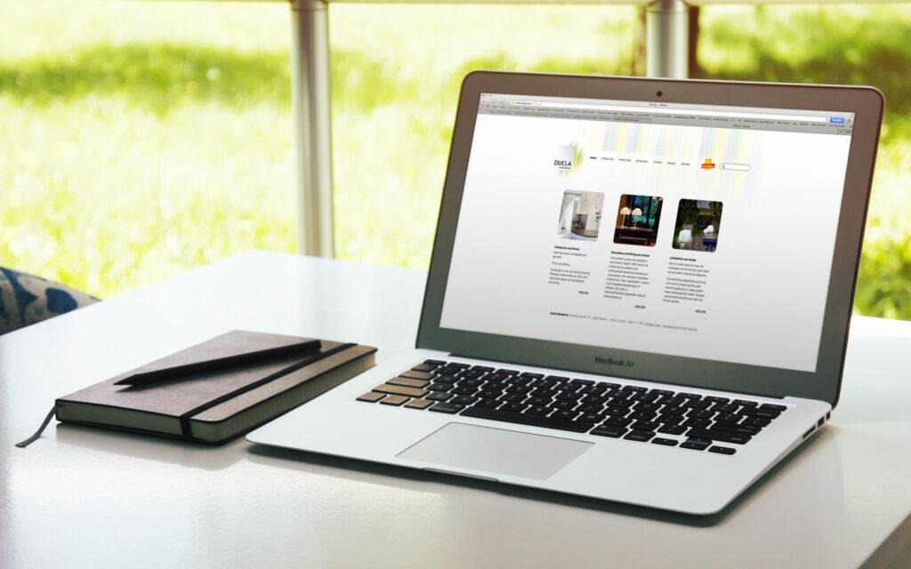 website voor Ducla lichtadvies