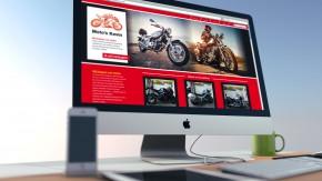 Webdesign voor Moto's Kevin i.o. van Scooptime.be