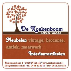 Moof graphic design ontwierp de huisstijl voor De Koekenboom