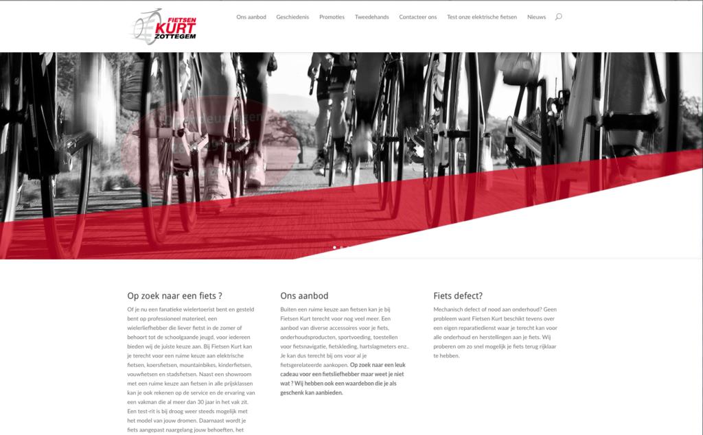 Fietsenkurt - website design