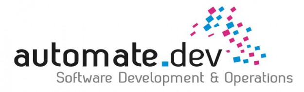 automate_dev software developpers. Logo design