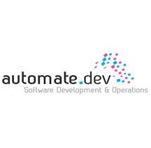 Moof ontwierp het logo voor automate_dev. software development