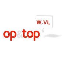 Moof ontwierp het logo voor op en top West-vlaanderen