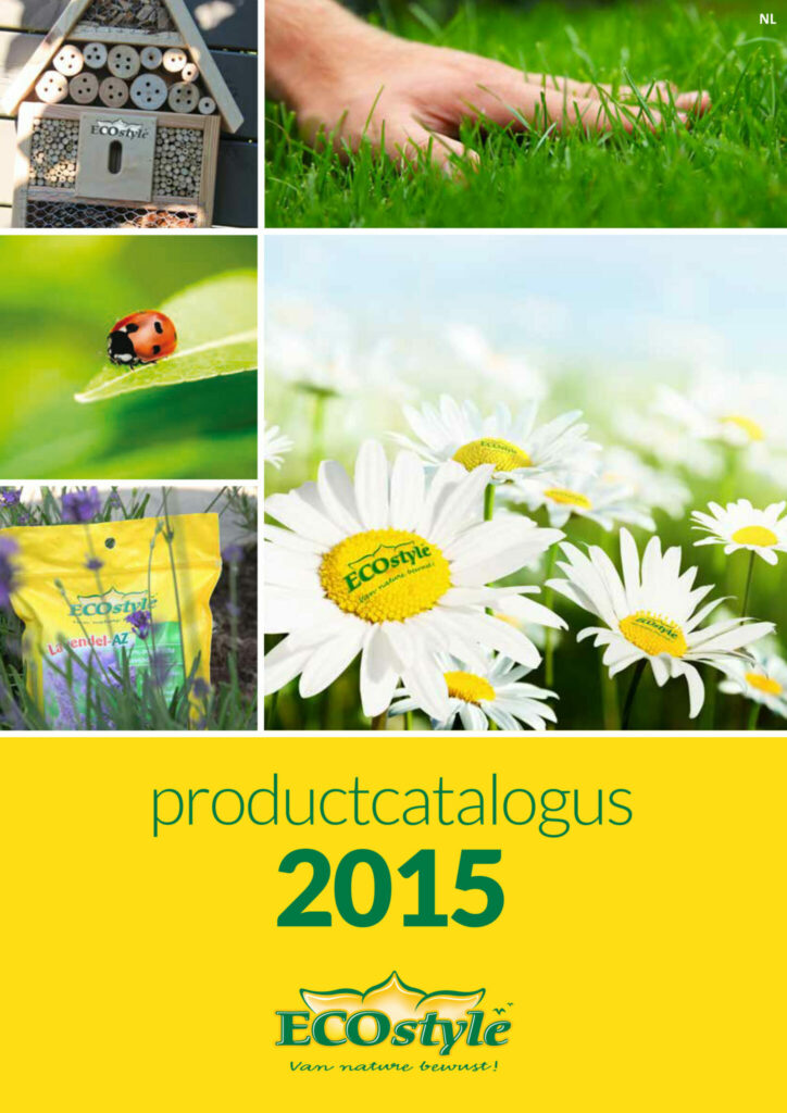 Folders, catalogi, affiches en advertenties voor ECOstyle