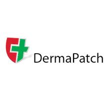 Dermapatch logo en verpakkingslijn