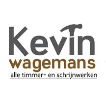 Moof ontwierp het logo voor timmer- en schrijnwerk Kevin Wagemans