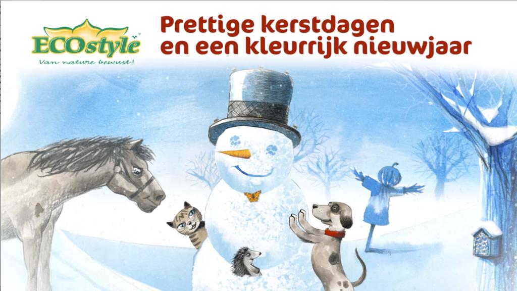 ECOstyle animatie filmpje als kerstwens