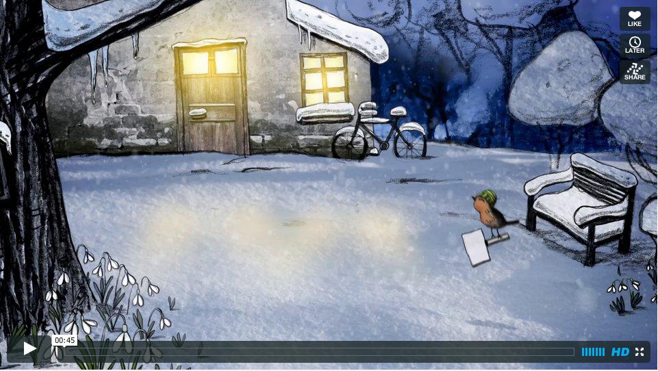 Kerstanimatie annex tekenfilm voor ECOstyle