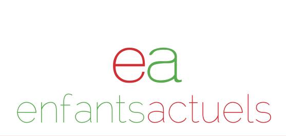 Nieuw logo voor enfants actuels!