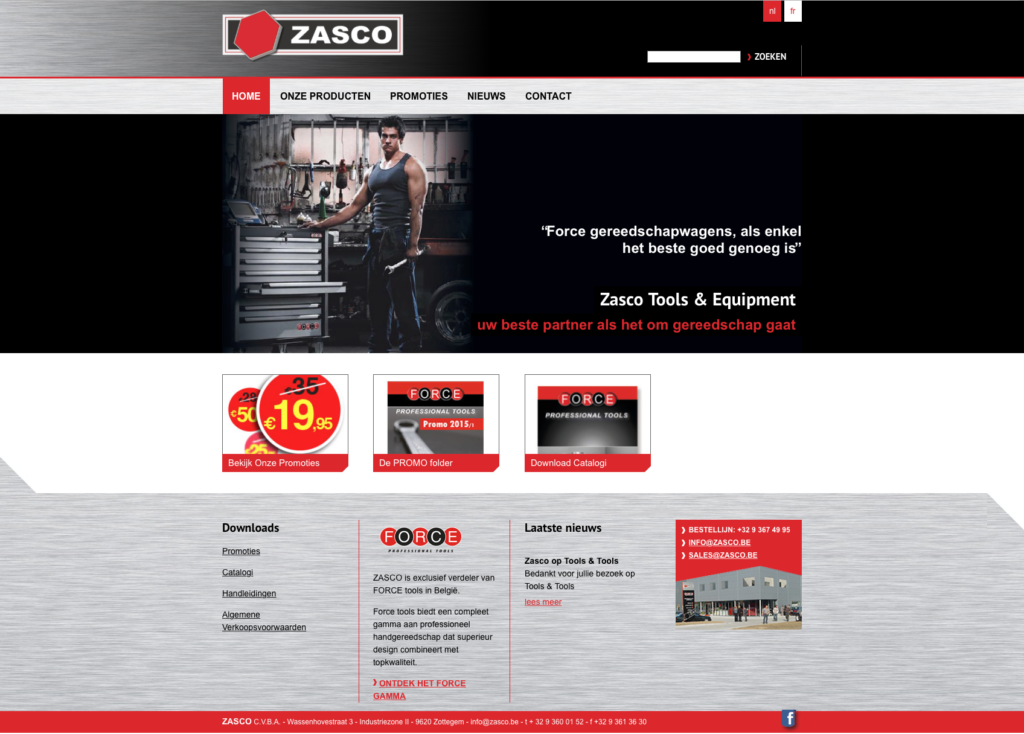 Professional tools by Zasco