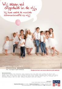 Kuva kinderkledij advertentie