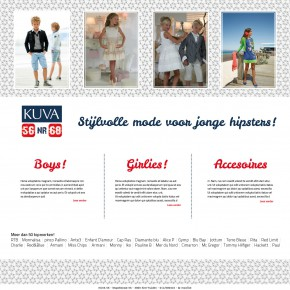 Kuva kinderkledij website