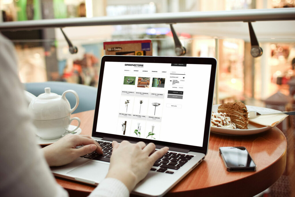 Nieuwe webshop voor greenconcepts