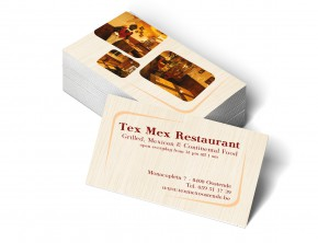 Texmex naamkaart