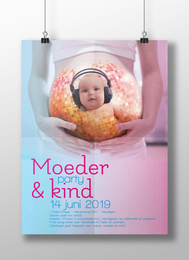Poster, affiche ontwerp Moof grafisch ontwerp